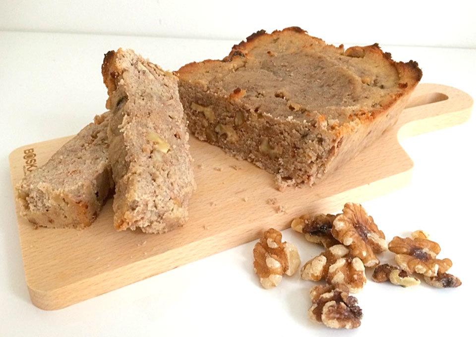 Recept bananenbrood met honing en walnoot