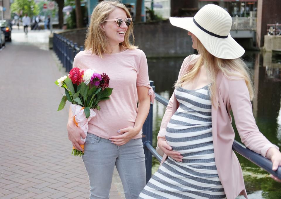 Relaxte zwangerschapskleding voor de laatste week!