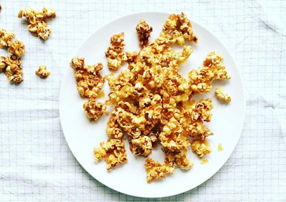 Sweet & Salty caramel popcorn