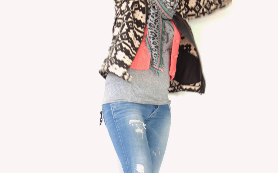 Outfit of the day | Sarah gaat voor een stoere denim