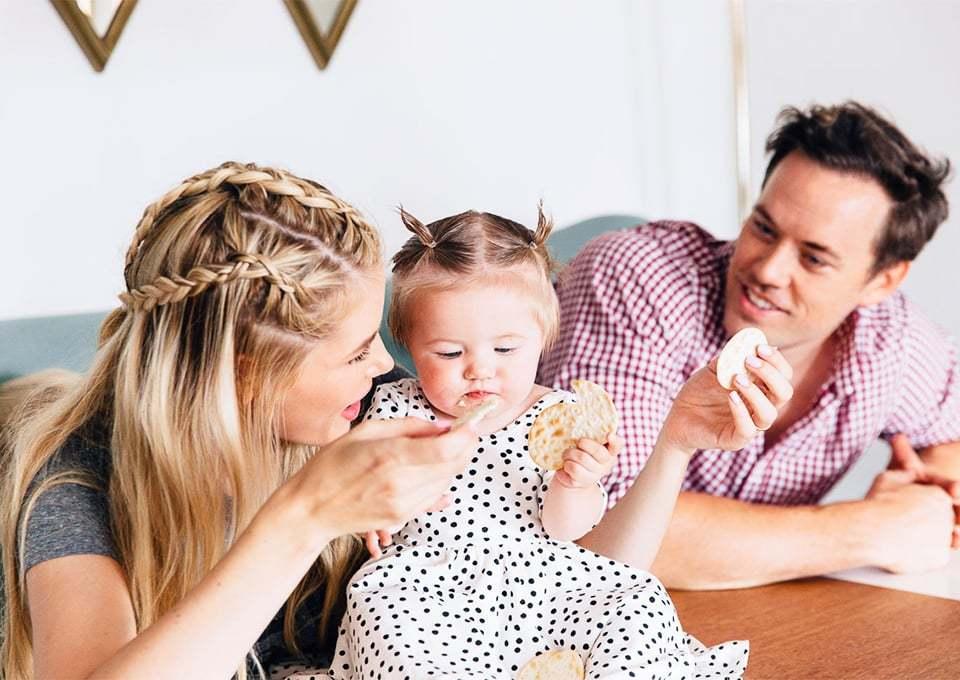 Gezonde tussendoortjes voor baby's