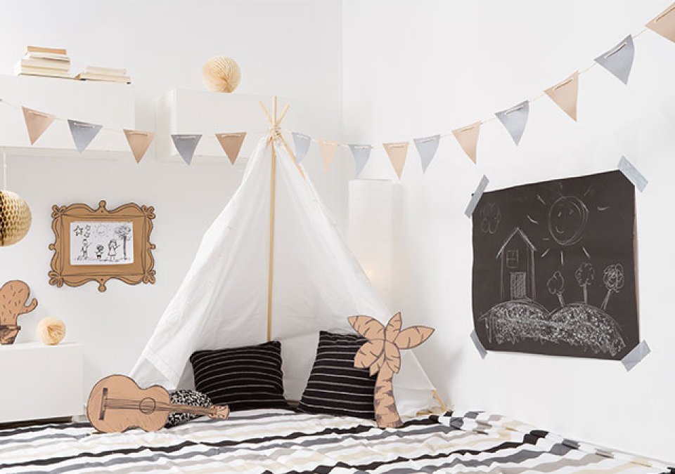 Minime loves stoer jongensbehang voor de kinderkamer minime