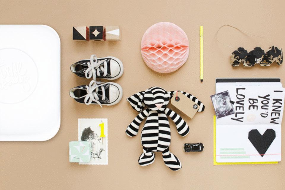 Uniek Cadeau Voor Een Baby Timecapsule Minimenl