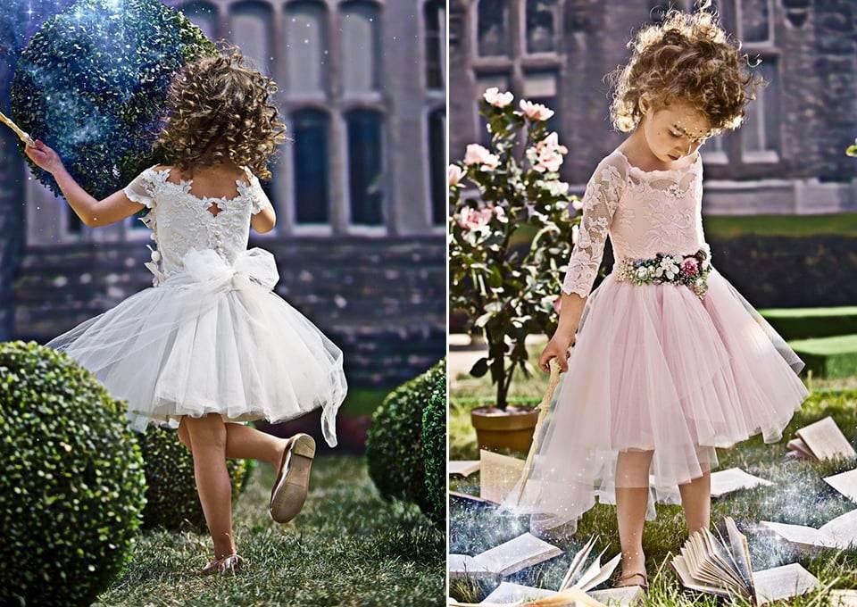 Cute! Bruidsmeisjesjurken voor jouw MiniMe