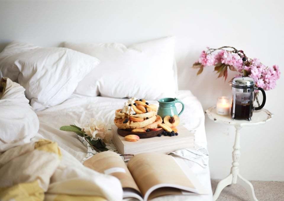 7x Heerlijke ontbijt op bed-inspiratie voor Moederdag