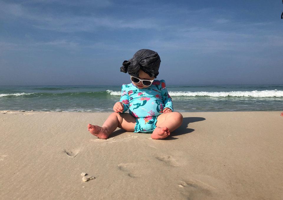 UV-zwemkleding voor baby's