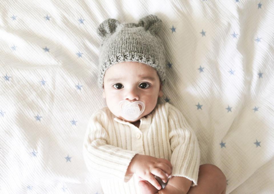 Baby 12 weken oud